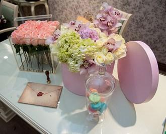 Цветы в коробке_фото 2