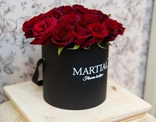 Красные розы в коробке_фото 1