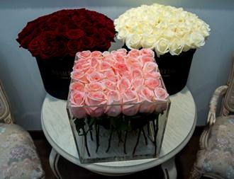 Розы в коробке_фото 1