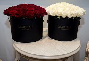 Купить шляпные коробки для цветов
