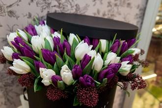 Тюльпаны в коробке_фото 2