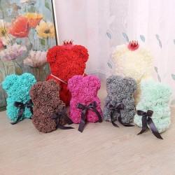 Мишки из латексных роз
