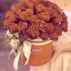 """51 роза, коробка """"М"""""""